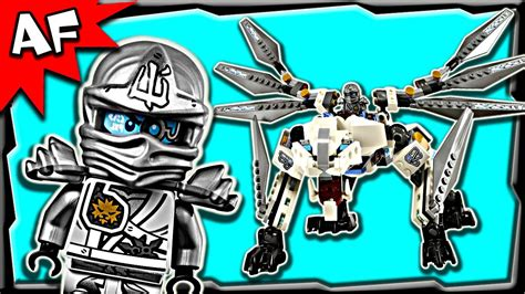 lego ninjago zanes titanium dragon  anacondrai