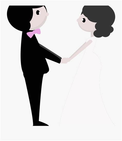wedding clipart  background gambar pernikahan kartun