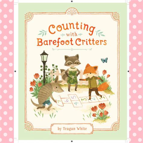 counting with barefoot critters books children s picture book review counting with barefoot