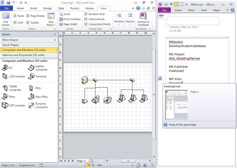 visio onenote anchor to onenote for microsoft visio office onenote gem