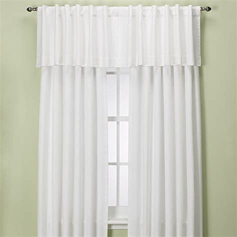 95 inch curtain rod buy union square 95 inch rod pocket back tab window