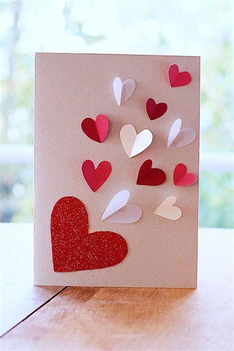 st valentin diy carte valentin 5 mod 232 les 224 faire soi m 234 me