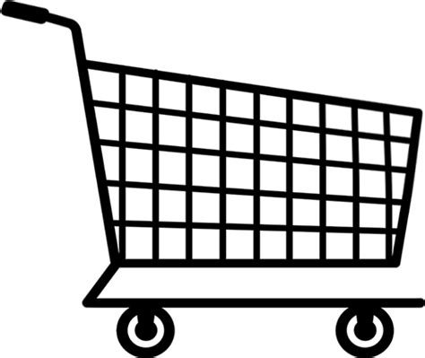 shopping cart coloring sheets coloring pages