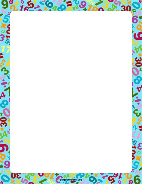 border clip free math border 2 math border free cliparts that you can