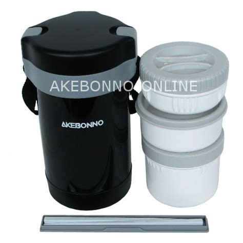 Peralatan Bekal Makanan Adia Tumbler Set Set Of 4 peralatan makan akebonno vacuum lunch jar 1 6 lt