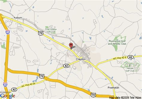 carolina comfort clayton nc map of comfort suites clayton clayton
