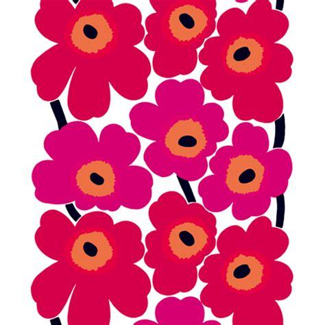 marimekko upholstery marimekko unikko red canvas fabric marimekko specialty