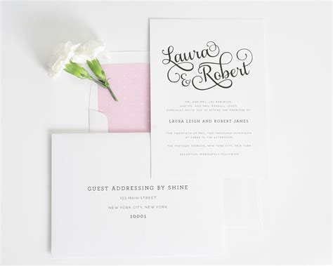 wedding envelope and guest sweet wedding invitations wedding invitations by