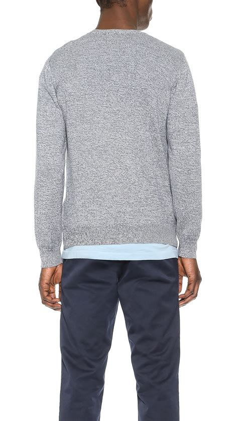 Sweater Carhart Roffico Cloth carhartt wip toss sweater in blue for lyst