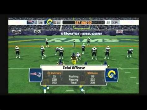 madden nfl 07 historic teams special 2001 new england