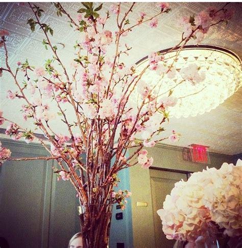 cherry blossom arrangements cherry blossom floral arrangement wedding decor pinterest