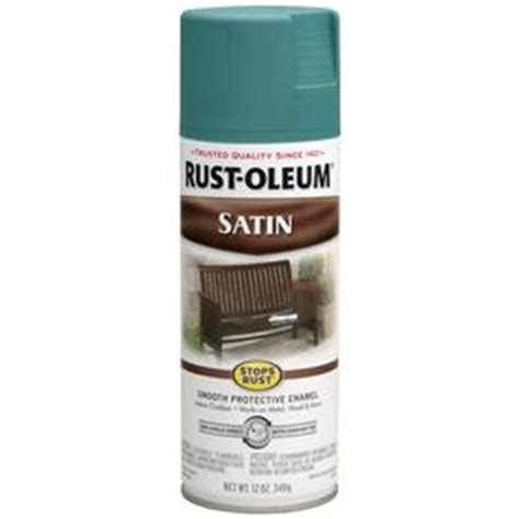 shop rust oleum stops rust 12 oz teal satin spray paint at lowes