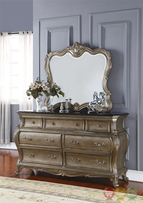 french silver bedroom furniture roma french bombe crystal tufted 4 piece king bedroom set
