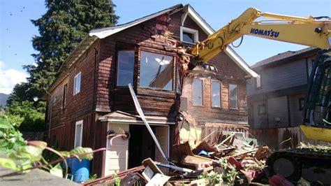 house demolition house demolition part 1 youtube