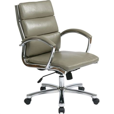 all office chairs office star deluxe mid back faux