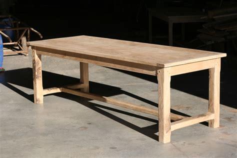 Table En Chene by Menuiserie Cancel Tables En Ch 234 Ne Massif