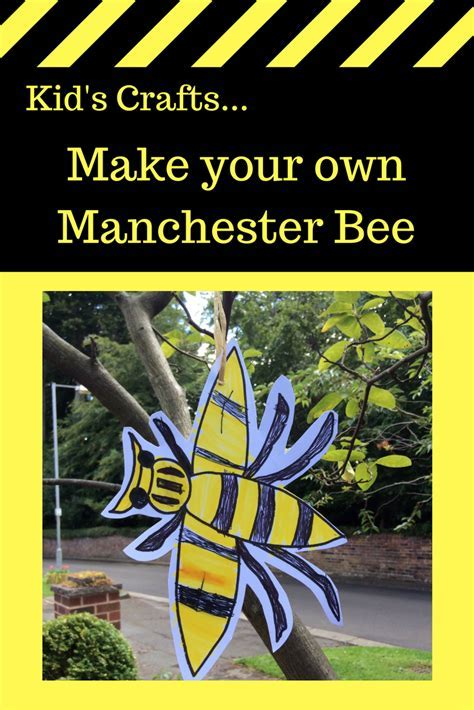 Easy Crafts: Make your own Manchester Bee   HodgePodgeDays