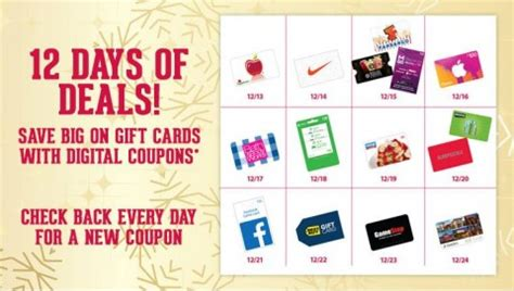 Kroger Gift Card Special - 12 days of gift card deals from kroger mylitter one deal at a time