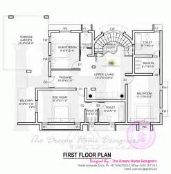floor pla house plan with elevation kerala home design and floor plans