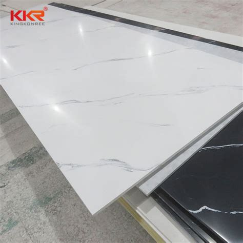 China Building Material Solid Surface Sheet Corian Texture