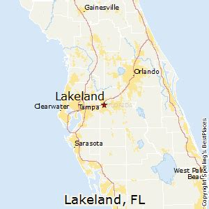 florida map lakeland best places to live in lakeland florida