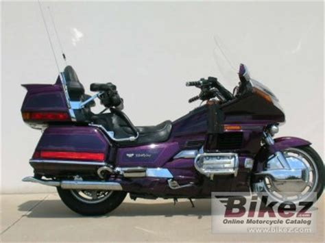1995 honda gl 1500 se gold wing specifications and pictures
