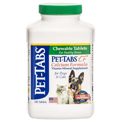 vitamin d for dogs pet tabs pet tabs cf calcium formula vitamin mineral supplement for dogs cats
