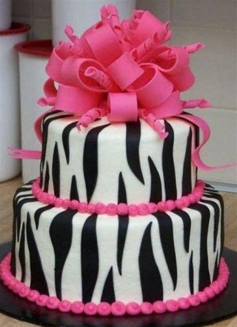 Ideas: A Zebra, Pink, Black and White Wedding Theme