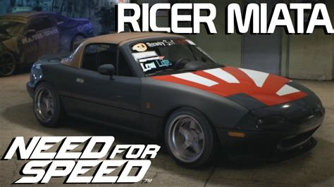 mazda miata ricer rudnik s ricer miata build need for speed 2015 youtube