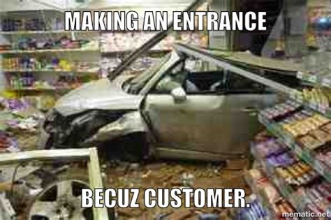 Car Accident Meme - pin meme collision funny pictures on pinterest