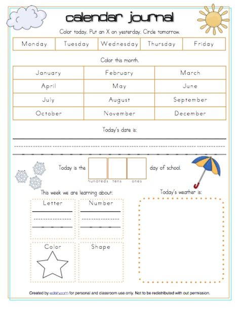 printable calendar journal 11 best images about calendar time on pinterest weather