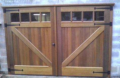 Wood Garage Doors Carriage Style Wood Garage Doors Interior Carriage Doors