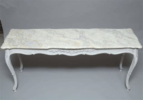 faux sofa table faux painted sofa table console for sale at 1stdibs