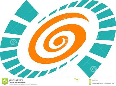 swirl logo pattern swirl logo royalty free stock photos image 14264208