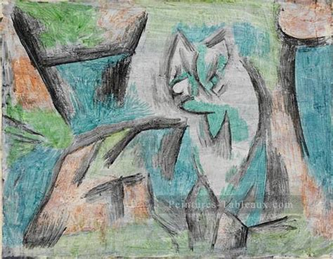 Sorte De Peinture by Une Sorte De Chat Paul Klee Peinture Tableau En Vente