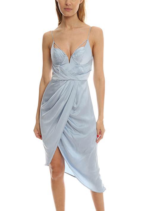 Gray Silk Dress 20738gym zimmermann sueded silk dress in gray lyst