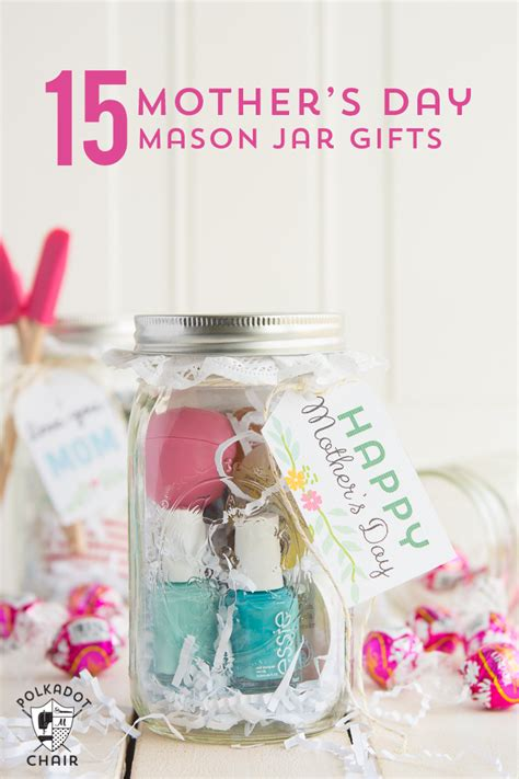 gift idea for mom last minute mother s day gift ideas cute mason jar gifts