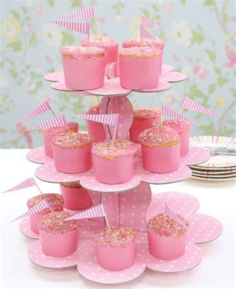 pink cupcake holder fox run 6973 cupcake carousel