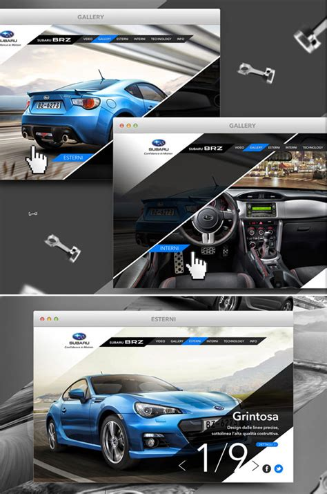 auto design nyc instagram 20 automotive website designs for your inspiration hongkiat