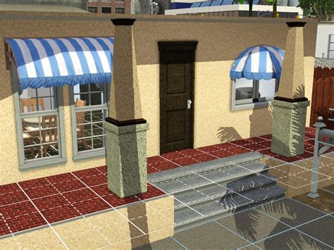 sims 3 awning my sims 3 blog shiftable awnings by shivar