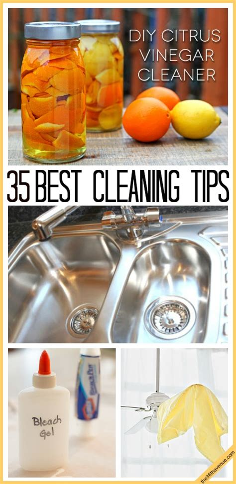 cleaning tips the 35 best cleaning tips