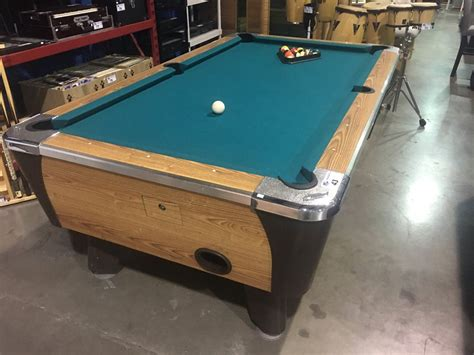 Dynamo Pool Table by Dynamo Coin Operated Pool Table C W Wall Hanging Pool Cue