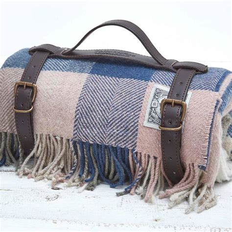 Luxury Picnic Rug by Luxury Large Check Plaid Picnic Rug By Tolly Mcrae