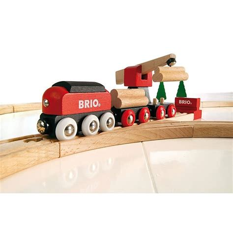 brio toys usa brio classic freight set 18 pc wooden train set