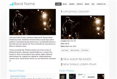 musician profile template 20 templates relacionados m 250 sica e bandas