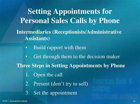 appointment setter definition ppt chapter 7 selling to the meetings market powerpoint