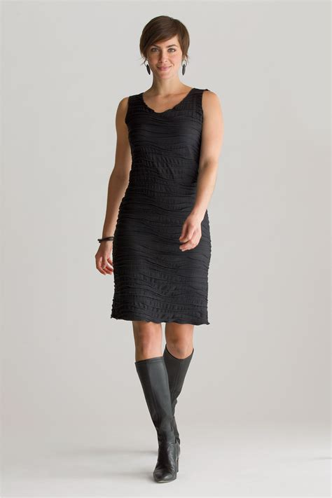 knitted dress fiore basic tank dress by carol turner knit dress