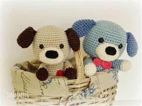Puppy Amigurumi smartapple creations amigurumi and crochet sammy the puppy crochet pattern is available