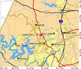 Cedar Park Tx Cedar Park Tx 78613 Profile Population Maps