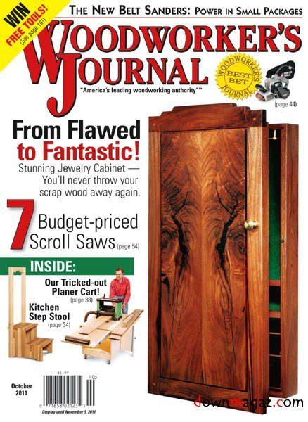 woodworkers journal magazine woodworker s journal september october 2011 187